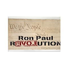 Ron Paul Preamble-C Rectangle Magnet (10 pack)