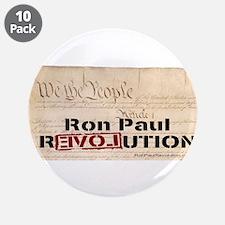"""Ron Paul Preamble-C 3.5"""" Button (10 pack)"""