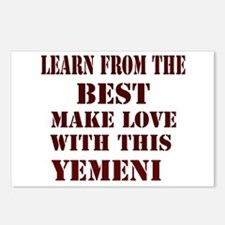 Make love with this Yemeni Postcards (Package of 8