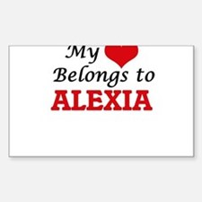 My heart belongs to Alexia Decal