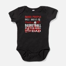 Basketball Dad Baby Bodysuit