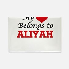 My heart belongs to Aliyah Magnets