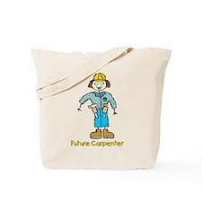 Future Carpenter Girl Tote Bag