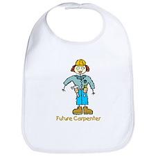 Future Carpenter Girl Bib