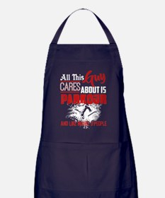 Funny Care about Apron (dark)