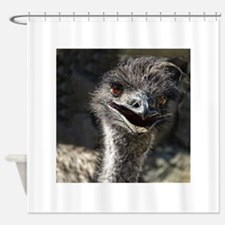 Helaine's Emu Shower Curtain