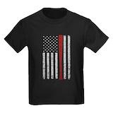4th of july baseball Kids T-shirts (Dark)