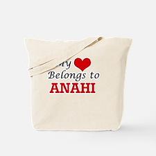 My heart belongs to Anahi Tote Bag
