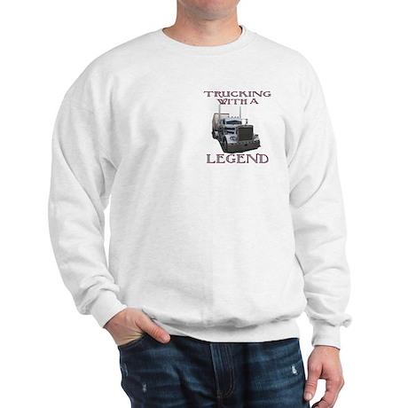 Trucking With A Legend Sweatshirt