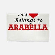 My heart belongs to Arabella Magnets