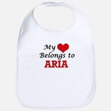 My heart belongs to Aria Bib