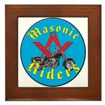 Masons who ride Framed Tile