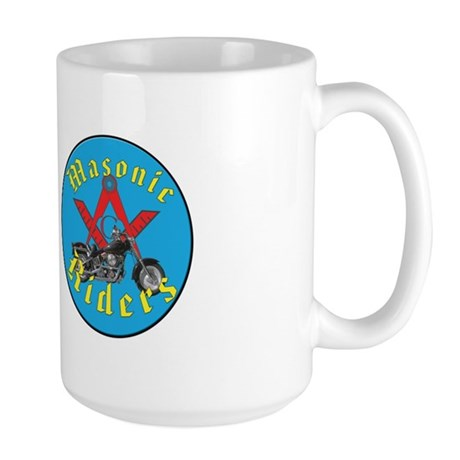 Masons who ride Large Mug