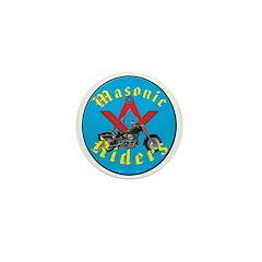 Masons who ride Mini Button (100 pack)