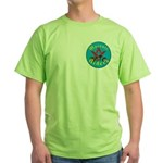 Masons who ride Green T-Shirt