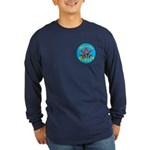 Masons who ride Long Sleeve Dark T-Shirt