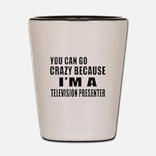 I Am Television presenter Shot Glass