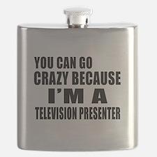 I Am Television presenter Flask