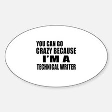 I Am Technical writer Decal