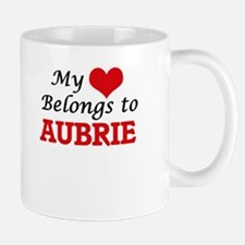 My heart belongs to Aubrie Mugs