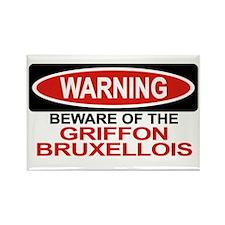GRIFFON BRUXELLOIS Rectangle Magnet