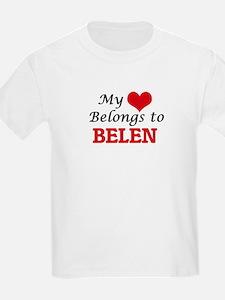 My heart belongs to Belen T-Shirt