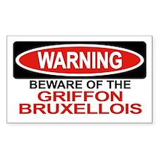 GRIFFON BRUXELLOIS Rectangle Decal