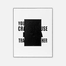 I Am Train dispatcher Picture Frame