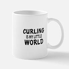 Curling Is My Little World Mug