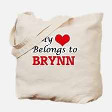 My heart belongs to Brynn Tote Bag