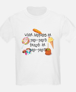 What Happens at Pap Pap's STAYS at Pap Pap's! T-Shirt
