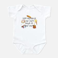 What Happens at Pap Pap's... Funny Infant Bodysuit
