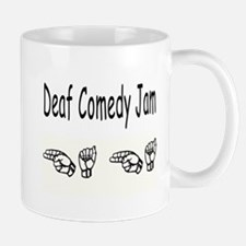 Deaf Comedy Mug
