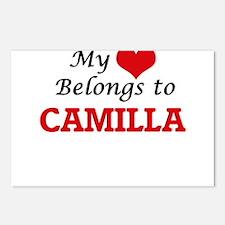 My heart belongs to Camil Postcards (Package of 8)