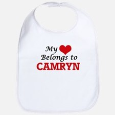 My heart belongs to Camryn Bib