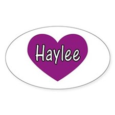 Haylee Oval Decal