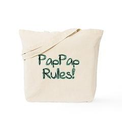 PapPap Rules! Tote Bag