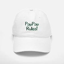 PapPap Rules! Baseball Baseball Cap