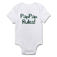 PapPap Rules! Infant Bodysuit