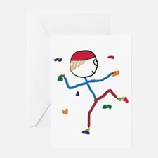 Indoor Climbing Greeting Cards