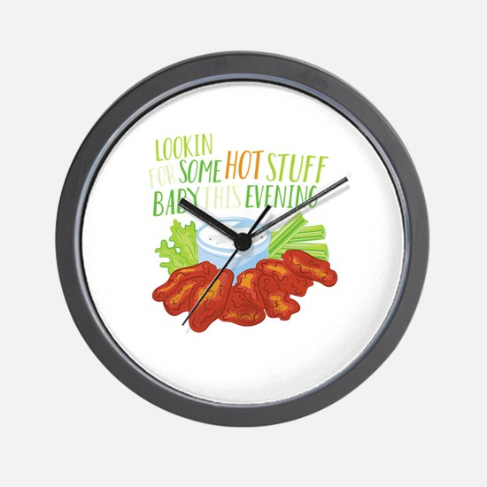 Some Hot Stuff Wall Clock