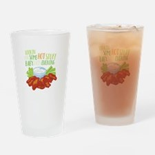 Some Hot Stuff Drinking Glass