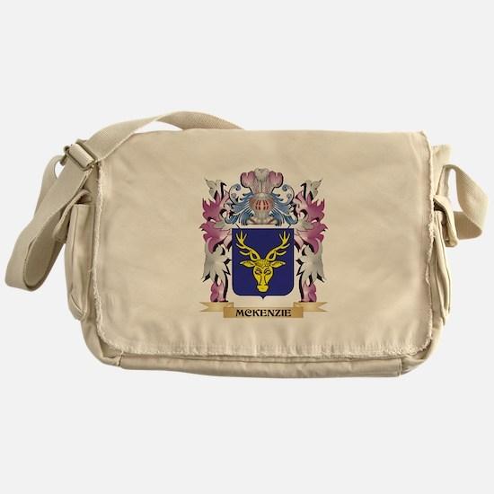 Mckenzie Coat of Arms - Family Crest Messenger Bag