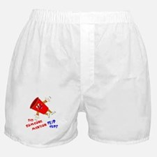 Did Someone Mention Flip Cup Boxer Shorts