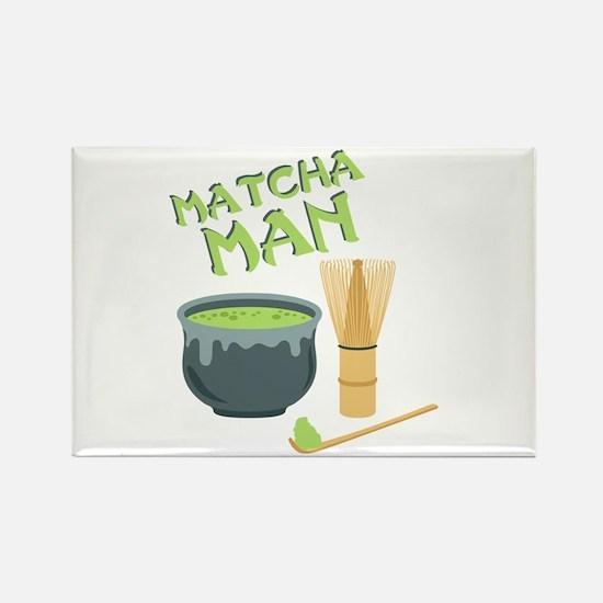 Matcha Man Tea Magnets