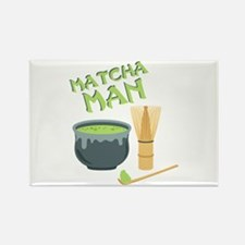 Matcha Man Tea Magnets