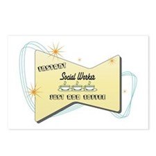 Instant Social Worker Postcards (Package of 8)