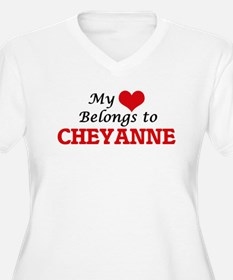 My heart belongs to Cheyanne Plus Size T-Shirt