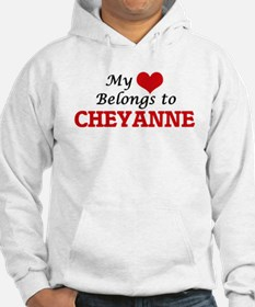 My heart belongs to Cheyanne Hoodie Sweatshirt