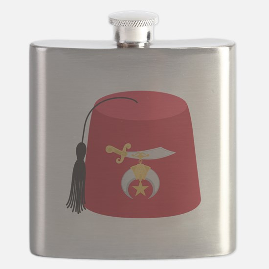 Fez Hat Flask
